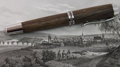 Füller Statesman Beschlagteile Rhodium/Titan